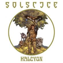 SOLSTICE - HALCYON (LTD EDITION BLACK VINYL +INSERT) LP (NEW)