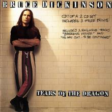 BRUCE DICKINSON - TEARS OF THE DRAGON (CD 1 OF A 2CD SET, INCL. 3 PRINTS & 2 EXCLUSIVE TRACKS) CD (NEW)