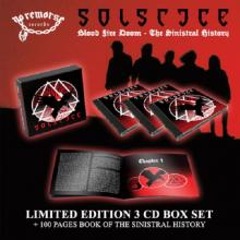 SOLSTICE - BLOOD FIRE DOOM (DELUXE BOX SET INCL. 3 CD & 100 PAGES BOOK) 3CD BOX (NEW)