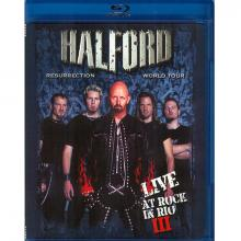 HALFORD - RESURRECTION - WORLD TOUR - LIVE AT ROCK IN RIO III BLU-RAY