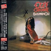 OZZY OSBOURNE - BLIZZARD OF OZZ (JAPAN EDITION +OBI) CD