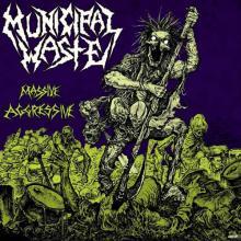 MUNICIPAL WASTE - MASSIVE AGGRESSIVE CD (NEW)