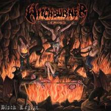WITCHBURNER - DEMONS (FULL AUTOGRAPHED GATEFOLD +2 POSTERS +CARD +STICKER) LP (NEW)