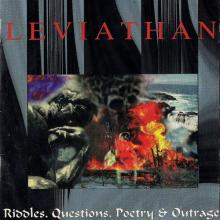 LEVIATHAN - RIDDLES, QUESTIONS, POETRY & OUTRAGE (U.S.A EDITION, DIFFERENT COVER & BOOKLET) CD