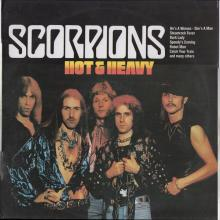 SCORPIONS - HOT & HEAVY - COMPILATION LP