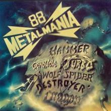 V/A - METALMANIA 88 - POLISH METAL (WOLF SPIDER, TURBO, DRAGON...) LP