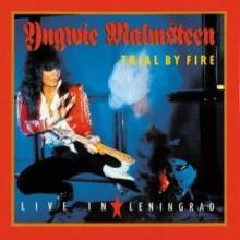 YNGWIE MALMSTEEN - TRIAL BY FIRE: LIVE IN LENINGRAD (JAPAN EDITION MINIATURE VINYL COVER +OBI) CD