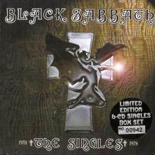 BLACK SABBATH - THE SINGLES (LTD NUMBERED EDITION BOX SET INCL. 6 CD'S MINIATURE VINYL COVER) BOX 6CD'S