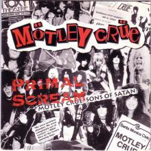 MOTLEY CRUE - PRIMAL SCREAM (SEALED COPY) LP (NEW)