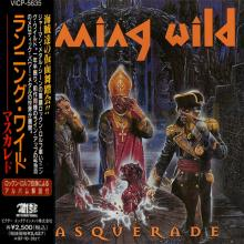 RUNNING WILD - MASQUERADE (JAPAN EDITION +OBI) CD