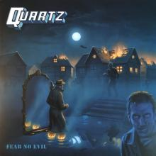 QUARTZ - FEAR NO EVIL (LTD EDITION 350 COPIES MILKY CLEAR VINYL) LP (NEW)