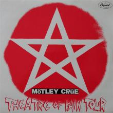 MOTLEY CRUE - THEATRE OF PAIN TOUR - LIVE IN OFFENBACH '86 2LP