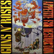 GUNS N' ROSES - APPETITE FOR DESTRUCTION (KOREA EDITION, FIRST COVER) LP