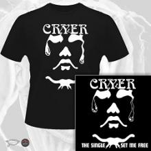 CRYER - THE SINGLE/SET ME FREE (LTD EDITION 100 COPIES + T-SHIRT) CD/T-SHIRT SIZE: L (NEW)
