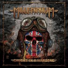 MILLENNIUM - CAUGHT IN A WARZONE (LTD EDITION 100 COPIES, RED VINYL) LP (NEW)