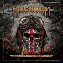 MILLENNIUM - CAUGHT IN A WARZONE (LTD EDITION 100 COPIES, RED VINYL) LP (NEW)