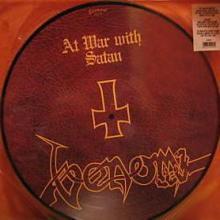 VENOM - AT WAR WITH SATAN (LTD EDITION PICTURE DISC) LP
