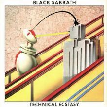 BLACK SABBATH - TECHNICAL ECSTASY (MINIATURE VINYL COVER) CD