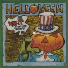 HELLOWEEN - I WANT OUT (BLUE VINYL, POSTER BAG) 7