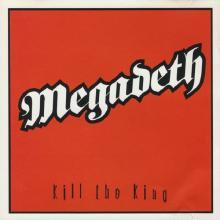 MEGADETH - KILL THE KING (PROMO) CD'S