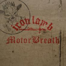 IRON LAMB/MOTORBREATH - SPLIT MLP (LTD EDITION 500 COPIES BLACK VINYL) 12