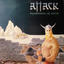ATTACK - DESTINIES OF WAR (FIRST EDITION) CD