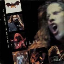 DARK ANGEL - LIVE SCARS (U.S.A COMBAT +STICKER) LP
