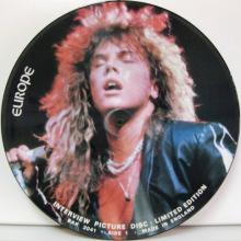 EUROPE - INTERVIEW PICTURE DISC (LIM.EDIT.) - LP