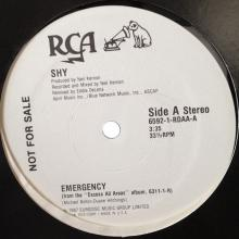 SHY - EMERGENCY (PROMO FROM THE
