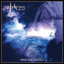 BLITZKRIEG - SINS AND GREED (LTD EDITION 200 COPIES SILVER VINYL) LP (NEW)
