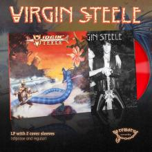 VIRGIN STEELE - SAME (2018 DELUXE EDITION 2-COVER SLEEVES VERSION, LTD 100 COPIES RED VINYL) LP (NEW)