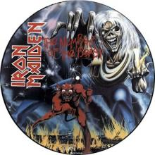 IRON MAIDEN - THE NUMBER OF THE BEAST (FIRST UK EDITION PICTURE DISC) LP