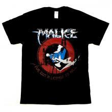 MALICE - I' VE GOT A LICENSE TO KILL T-SHIRT (SIZE XL) (NEW)