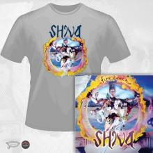 SHIVA - FIREDANCE (LTD EDITION 100 COPIES + 2 BONUS TRACKS + T-SHIRT) CD/T-SHIRT SIZE: L (NEW)