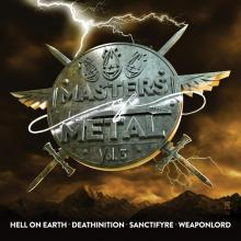V/A - MASTERS OF METAL VOLUME 3 (HELL ON EARTH, DEATHINITION, SANCTIFYRE, WEAPONLORD) CD (NEW)