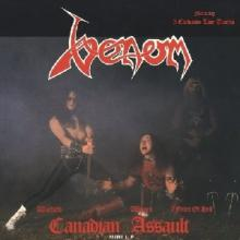 VENOM - CANADIAN ASSAULT (SPLATTER VINYL) LP (NEW)