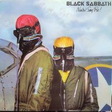 BLACK SABBATH - NEVER SAY DIE (VERTIGO W.GERMANY) CD