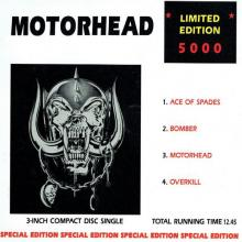 MOTORHEAD - ACE OF SPADES (LTD 5000 COPIES SPECIAL EDITION 3