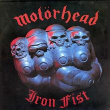MOTORHEAD - IRON FIST (180GR VIRGIN VINYL, GATEFOLD) LP (NEW)