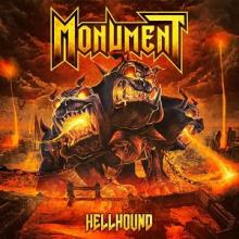 MONUMENT - HELLHOUND (LTD EDITION 500 COPIES BOX SET INCL.: DIGIPAK CD, EXCLUSIVE COLOURED 2LP, POSTER & PATCH) 2LP/CD BOX SET (NEW)