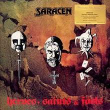 SARACEN - HEROES, SAINTS & FOOLS (LTD NUMBERED EDITION 750 COPIES 180GR AUDIOPHILE RED VINYL INCL. 2 BONUS TRACKS, GATEFOLD) LP (NEW)