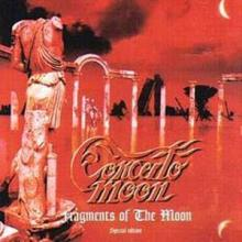 CONCERTO MOON - FRAGMENTS OF THE MOON (JAPAN EDITION+OBI) CD