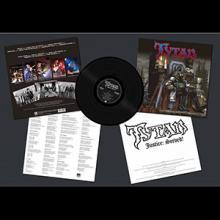 TYTAN - JUSTICE: SERVED! (LTD EDITION 200 COPIES BLACK VINYL +INSERT) LP (NEW)