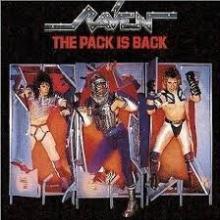 RAVEN - THE PACK IS BACK (JAPAN EDITION +OBI) LP