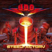 UDO - STEELFACTORY (LTD EDITION 500 COPIES CLEAR RED VINYL, GATEFOLD) 2LP (NEW)
