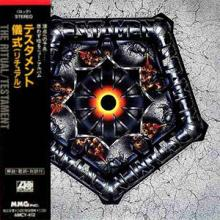 TESTAMENT - THE RITUAL (JAPAN EDITION +OBI) CD
