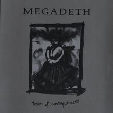 MEGADETH - TRAIN OF CONSEQUENCES (PROMO) CD'S