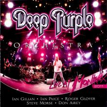 DEEP PURPLE - LIVE AT MONTREUX 2011 (LTD HAND-NUMBERED EDITION 500 COPIES PURPLE GLITTER VINYL) 3LP (NEW)
