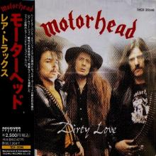 MOTORHEAD - DIRTY LOVE (JAPAN EDITION +OBI) CD
