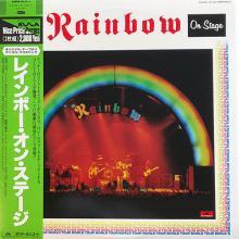 RAINBOW - ON STAGE (JAPAN EDITION +OBI, GATEFOLD) 2LP